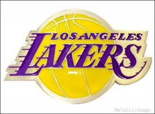 NBA Licensed La Lakers Quality Belt Buckle