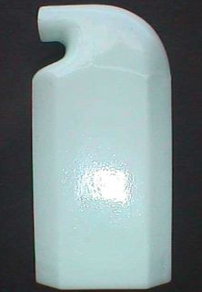 Beautiful White Milk Glass Antique Tooth Powder Bottle Odol for The