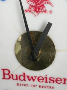 Budweiser Beer Ale Clock Emerson Loyalhanna Latrobe PA Union Made