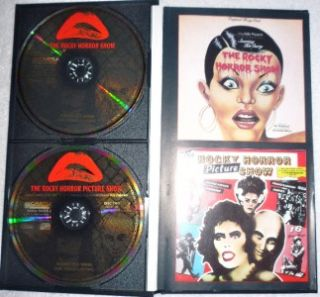 Rocky Horror Picture Show 4 CD Compilation Box Book Set 1993 UK Import