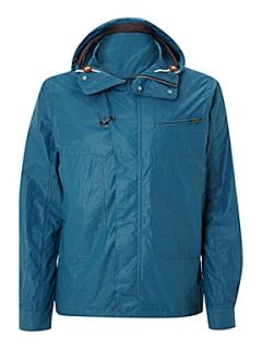 Paul Smith Jeans Deck jacket with hood and clip detail fastening Blue   House of Fraser