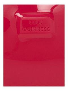 Lulu Guinness Persepex lips clutch bag