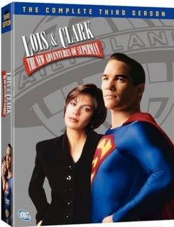 Lois and Clark Complete Third Season 3 Three DVD New