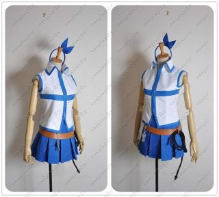 Fairy Tail Lucy Heartfilia Cosplay Costume Custom Made New Belt