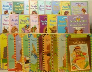 Junie B Jones Books Complete Series by Barbara Park Softcovers