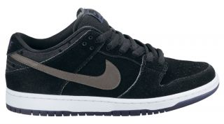 Nike Dunk Low Pro SB Black Midnight Fog Mid Navy White Grey Premium