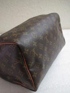 Louis Vuitton Monogram Speedy 30 Bag