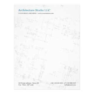 Architecture Floor Plan letterhead