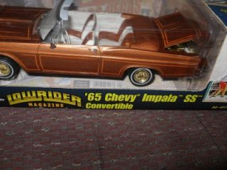 Revell Lowrider Magazine 65 1965 Chevy Impala SS Convertible