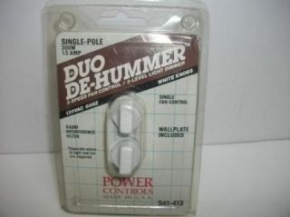 New de Hummer Light Fan 3 Speed Control Wall Switch