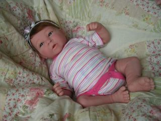 Reborn Berenguer Preemie Baby Girl Doll *Aislynn* Full Vinyl Limbs