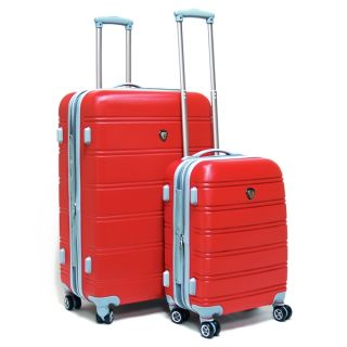 Calpak Andover Hardside 2 Piece Spinner Luggage Set RED