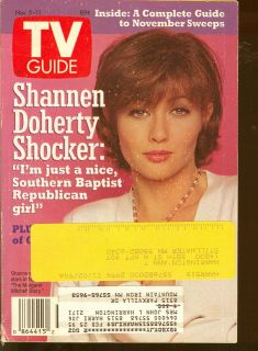 1994 TV Guide Shannen Doherty Margaret Mitchell Story