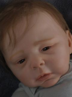 Harrison Ford•Han Solo•Star Wars Inspired Reborn Baby Sculpt by
