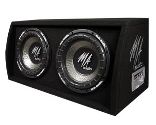New MA Audio 600 Watt 12 Car Audio Subwoofers w Box