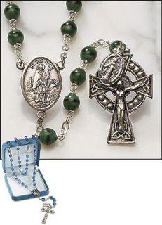 Catholic Celtic Irish Rosary Saint Patrick Miraculous