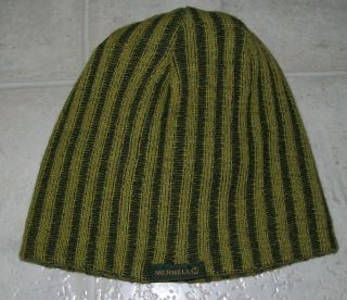 Merrell Evergreen Lutsen Reversible Beanie Knit Cap Hat Adult
