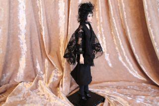 OOAK Fairy Tale Gothic Goth Lydia Doll Sculpture P Gibbons Fairies Art
