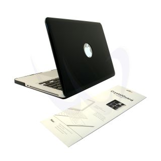 Black Crystal MacBook Pro Hard Case Cover 13 inch Black Keyboard Skin