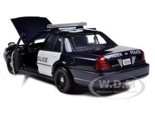 2007 Ford Crown Victoria Lynden Police Car die cast car by Motormax