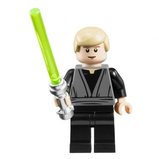 Lego Star Wars Luke Skywalker Minifigure Minifig Figure Lightsaber