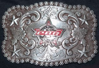 Kids PBR Logo Belt Buckles M F Western Products