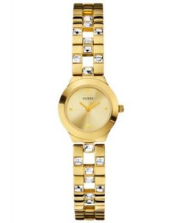 GUESS Watch, Womens Gold Tone Bracelet 38mm U0025L2   All Watches
