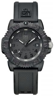 Luminox 7051 Blackout Womens Navy Seal Colormark Dive Watch