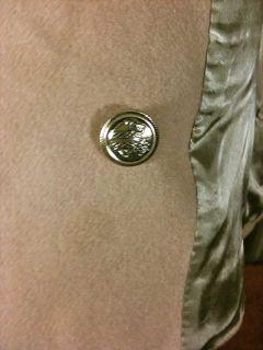Vintage Mackintosh 100 Wool Camel Colored Peacoat Jacket Coat M Womens