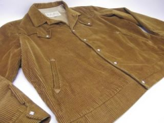 Vtg 50s MacMurray California Western Corduroy Ricky Pearl Snap Jacket