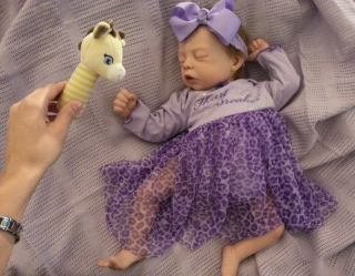 Baby Girl *MADELINE* reborn doll COZY sculpt *OOAK* newborn MORE PICS