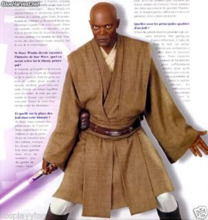 Mace Windu Tunic Costume for Star Wars Cosplay Custom