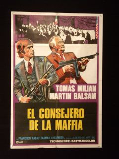 Maffia), starring Martin Balsam, Tomas Milian and