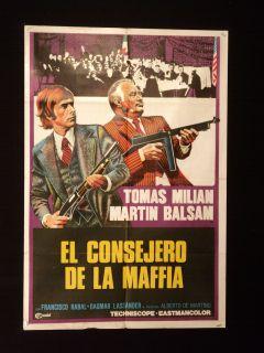 Maffia), starring Martin Balsam, Tomas Milian and