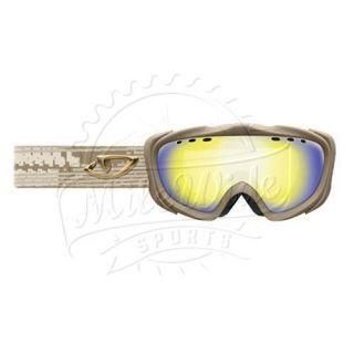 Giro Lyric Spherical Lens Goggle Khaki Frame Amber Gold Lens