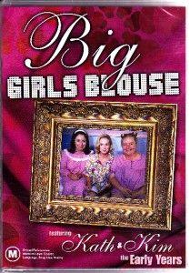 Blouse Early Kath and Kim Magda Szubanski New and SEALED DVD