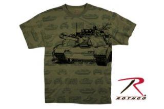 M1 Abrams Tank Armor Marines Army Tee T Shirt M