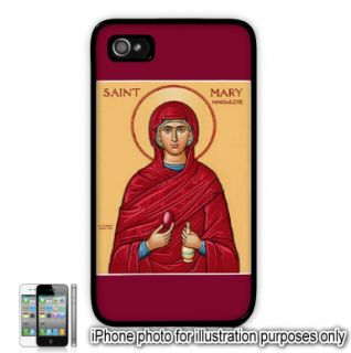Saint St Mary Magdalene Photo Apple iPhone 4 4S Case Cover Skin Black