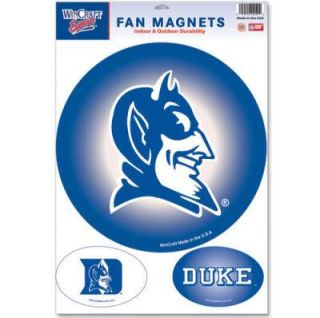 University Blue Devils Fan Magnets Official Logo Car Magnets