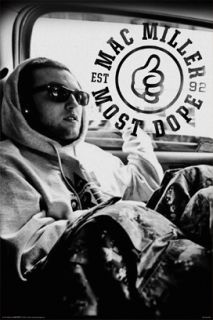 Mac Miller Most Dope Rap Music Poster