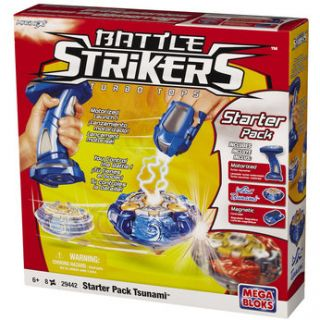 Battle Strikers Starter Pack Set Tsunami Turbo Tops