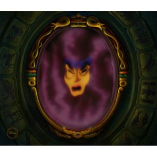 Snow White Magic Mirror Chroma Cel