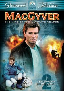 MacGyver Season 2 New SEALED 6 DVD Set