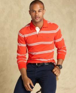 Tommy Hilfiger Shirt, Long Sleeve Kenmore Slim Fit Shirt   Mens T