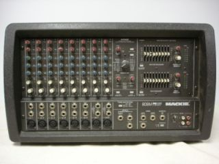 Mackie Fr 808M Fast Recovery Powered Mixer Amp