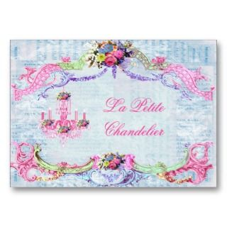 La Petite Chandelier Business Cards