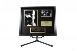 Marilyn Monroe Framed Replica Check Collage Product Image