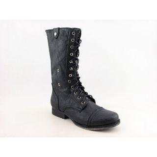 Madden Girl Geirard Womens Sz 10 Black Boots Calf Shoes