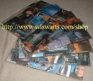 in Motion Master Set of 135 Cards RARE Majel Barret Autographs