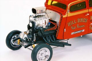 18 1933 Willys Gasser Hills Brothers   Ltd. Ed. of 1750 diecast car